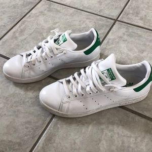 Mens Adidas Stan Smith Shoes- Worn Twice! size 7.5